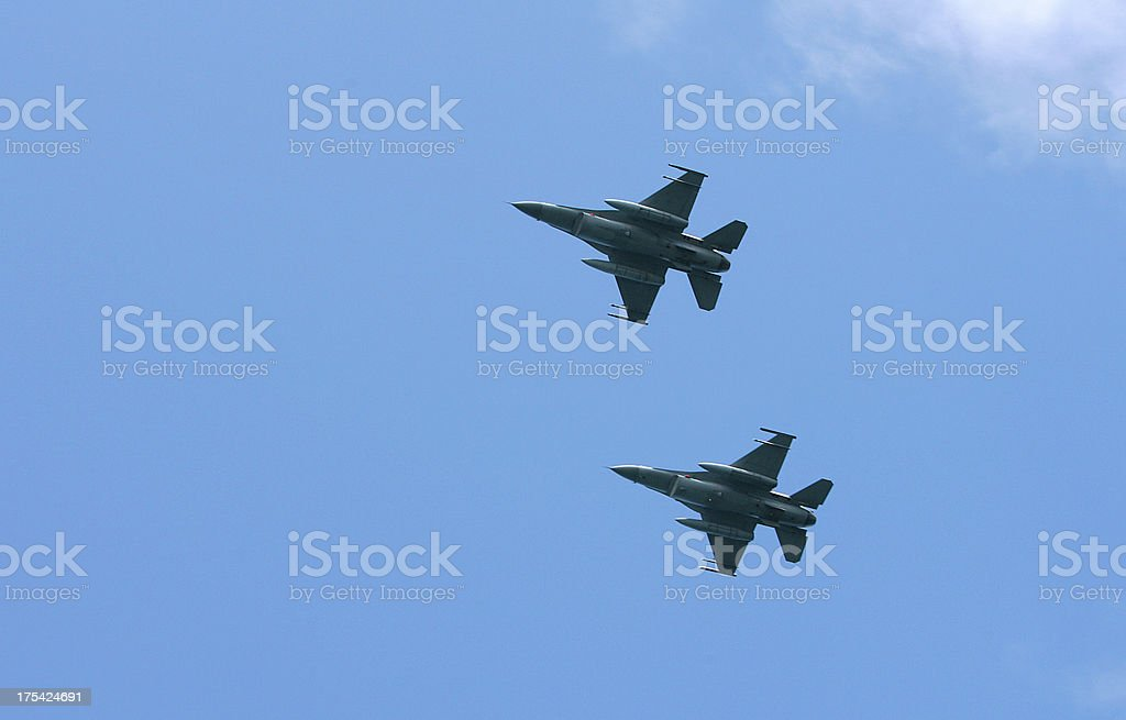 NATO Fighters royalty-free stock photo