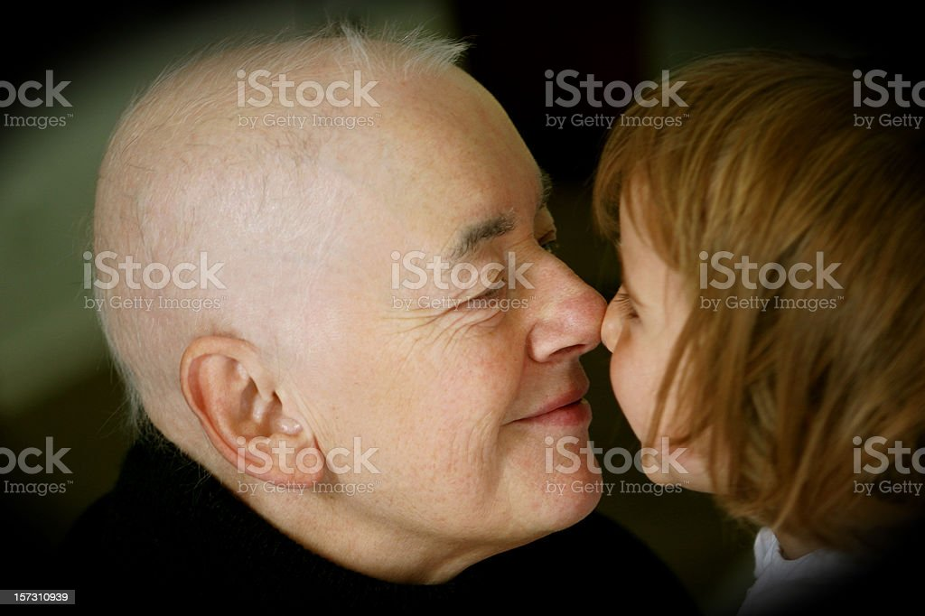 Fighting cancer stock photo