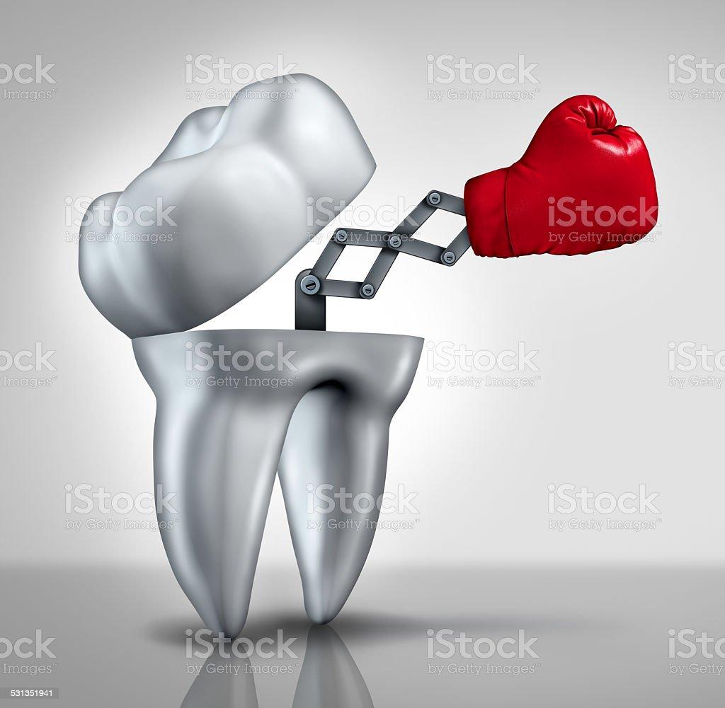 Fighting Cavities stock photo