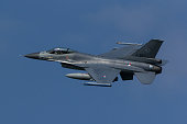 F-16 Fighting Falcon during Frisian Flag exercise