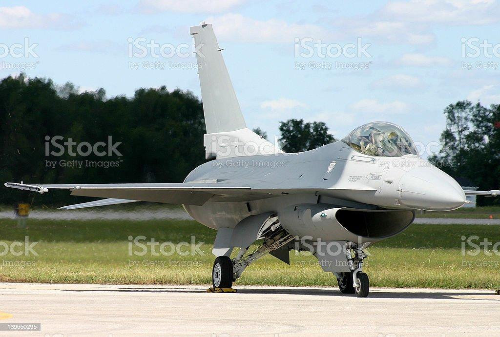 F-16 Fighting Falcon stock photo