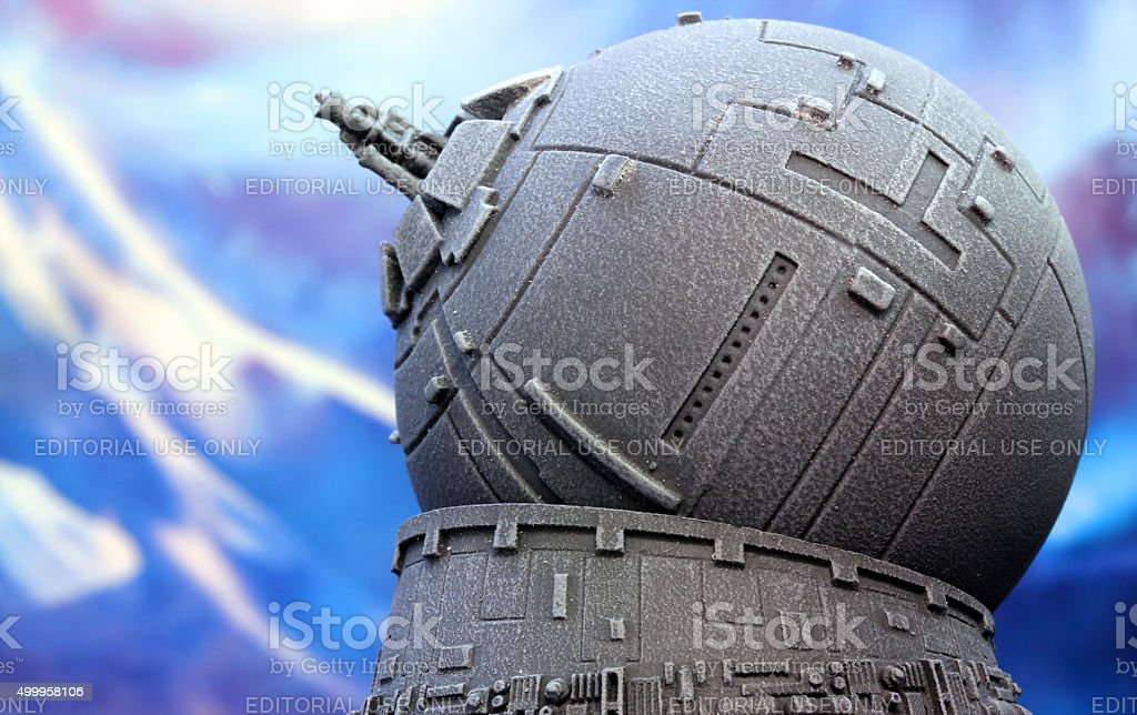 Fighting Off the Empire stock photo