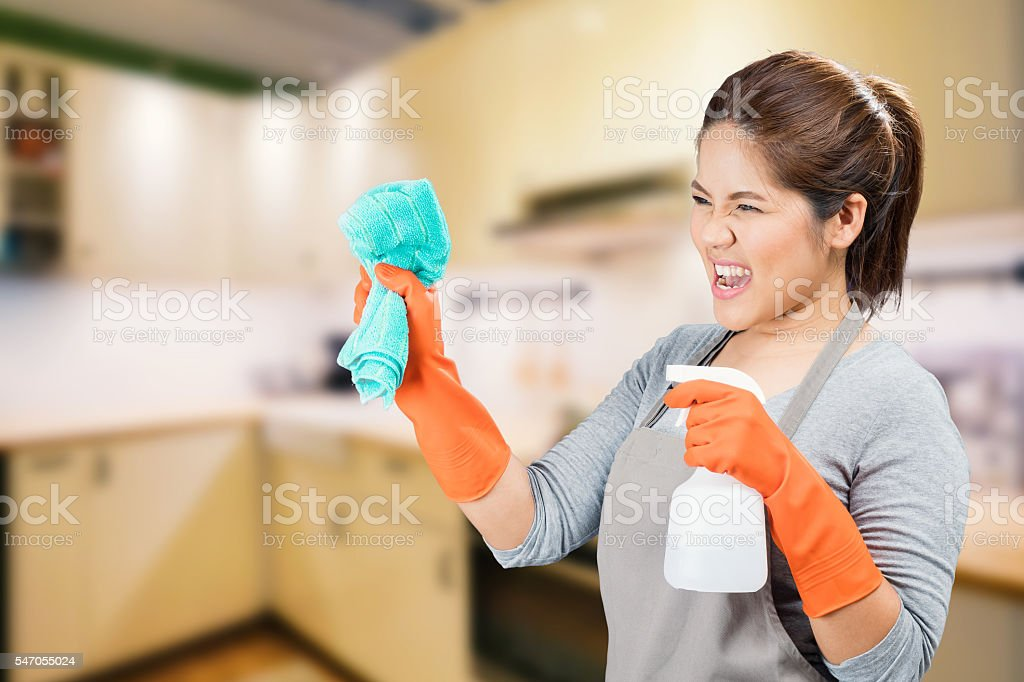 fighting with dirty stock photo