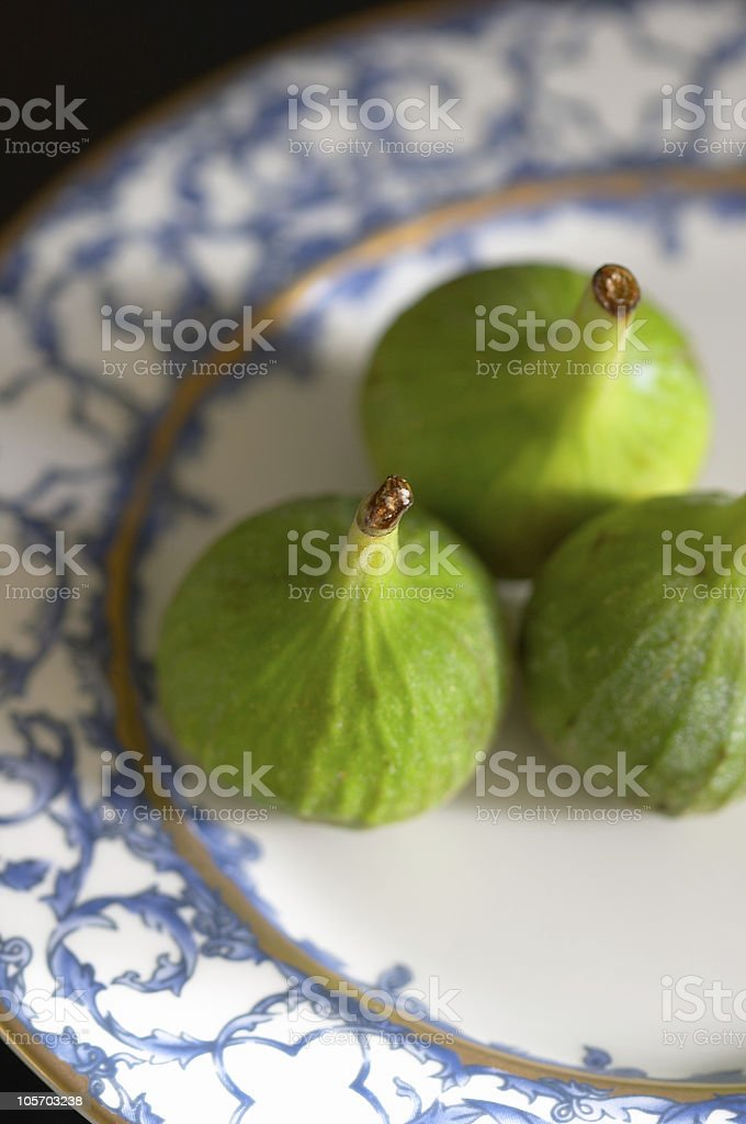 Figs (fruits for dessert) royalty-free stock photo