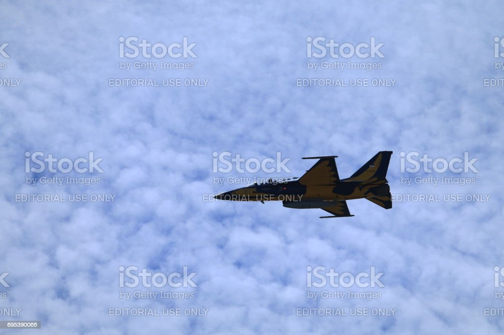 F 16 Figting Falcon stock photo