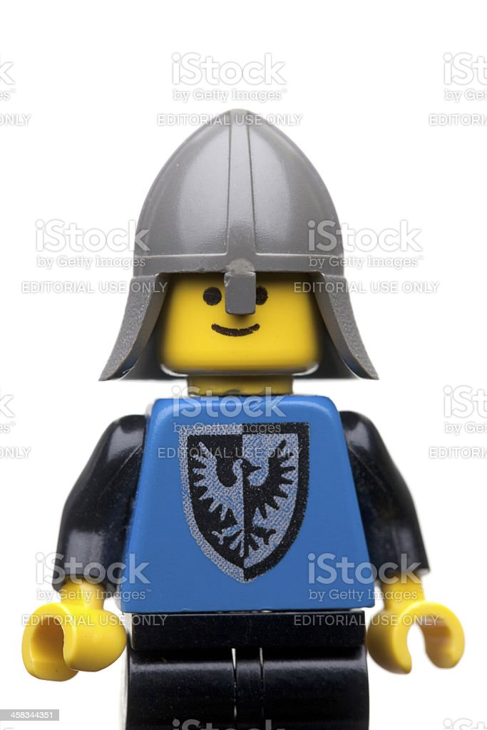 LEGO figure close up royalty-free stock photo