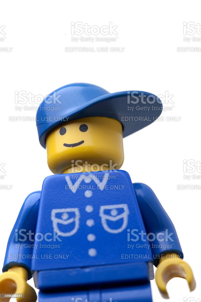 LEGO figure close up royalty-free stock photo