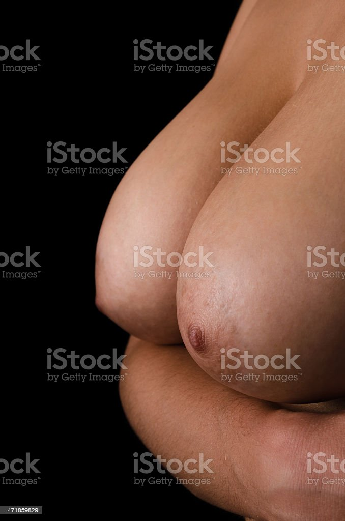 figure of a naked woman royalty-free stock photo
