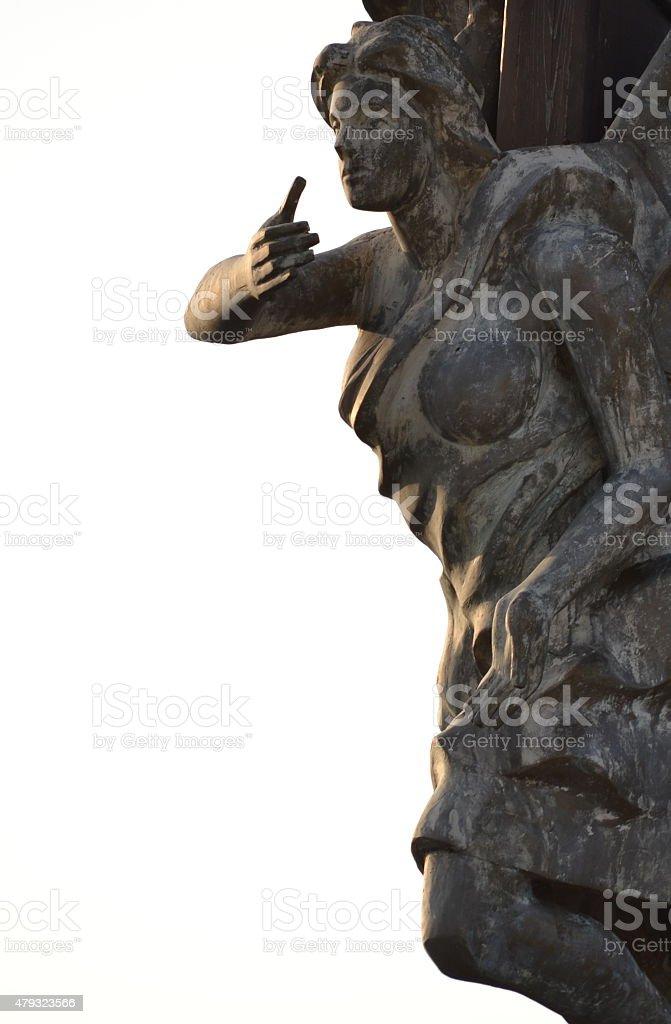Figurehead stock photo