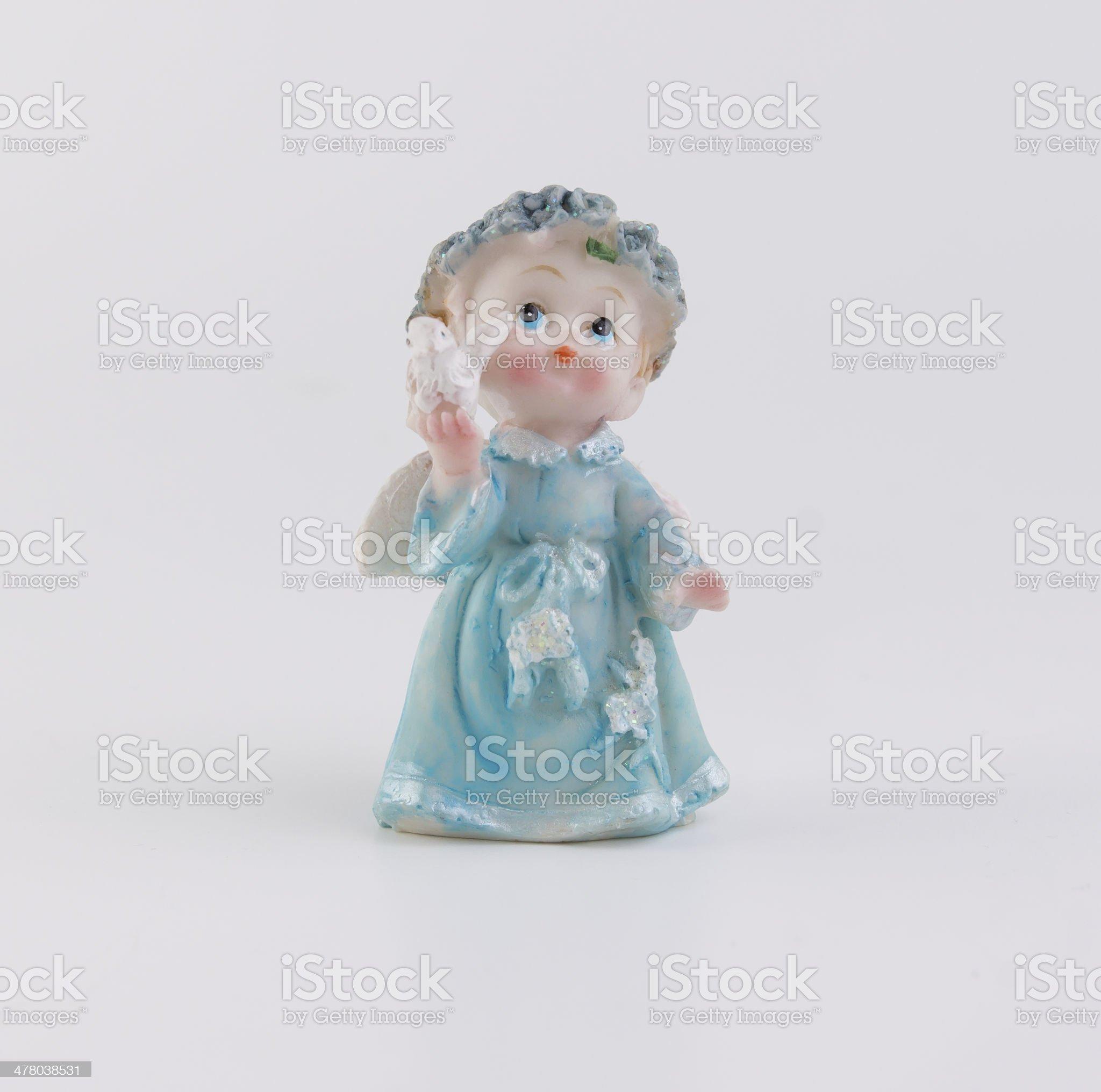 figurine angel royalty-free stock photo