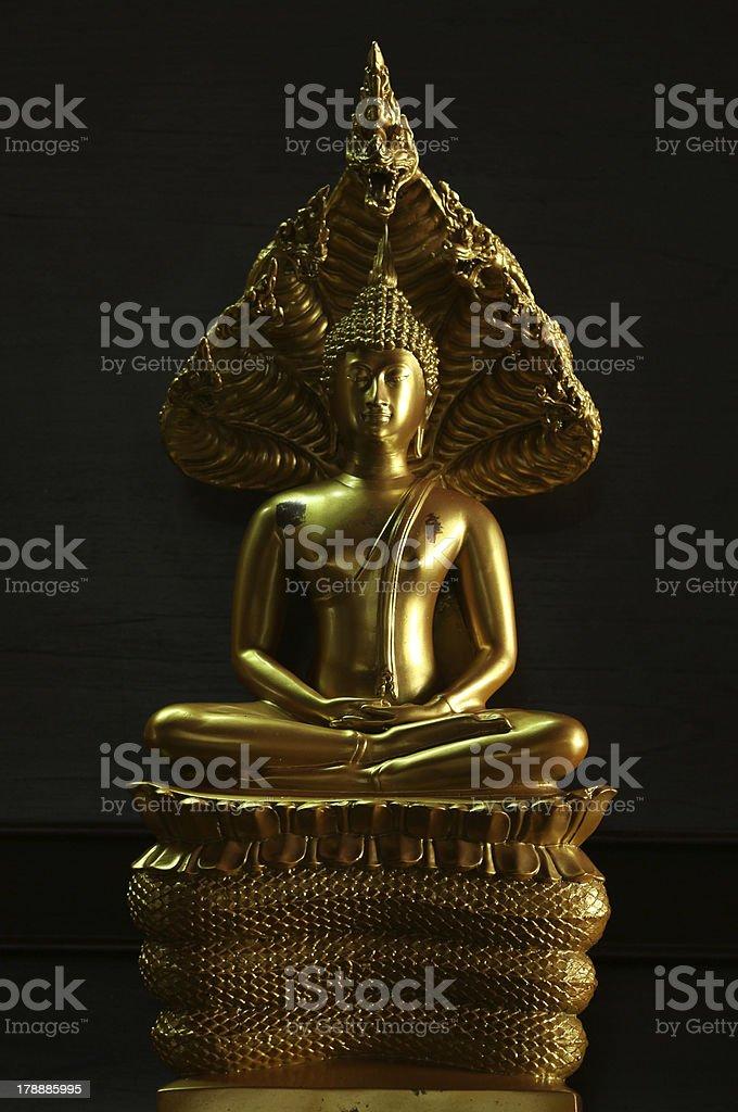 Figurine of the Buddha. royalty-free stock photo