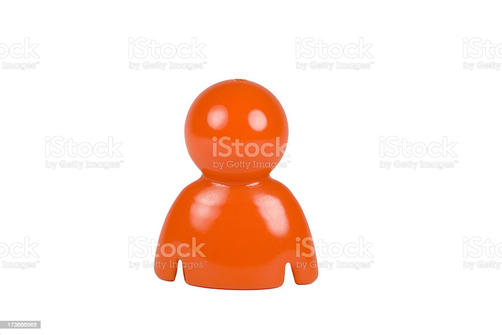 Figurine royalty-free stock photo