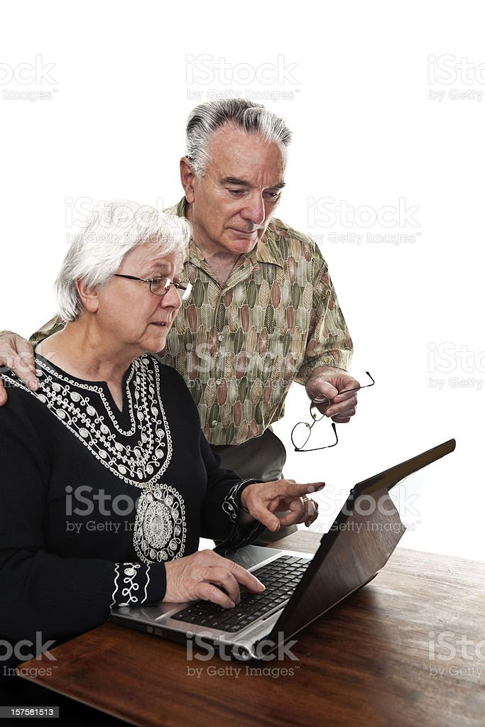 Figuring It Out royalty-free stock photo