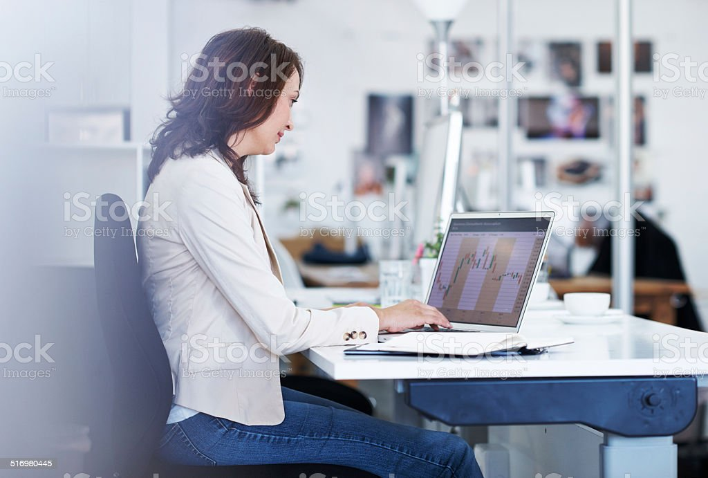 Figuring out the finances stock photo