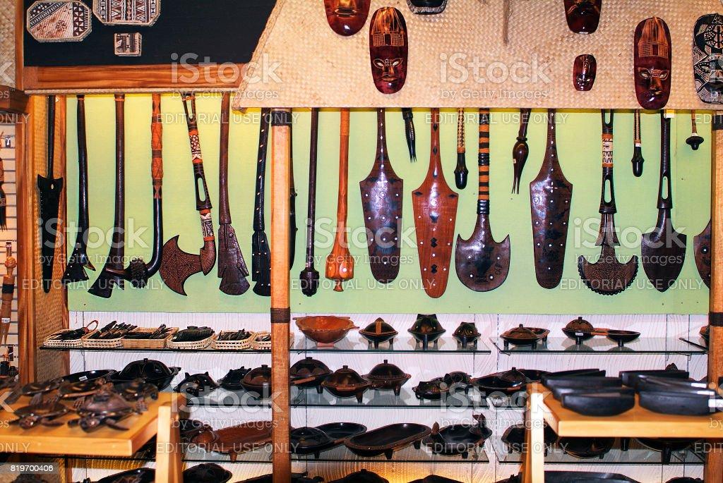 Fiji Island, Souvenir stock photo