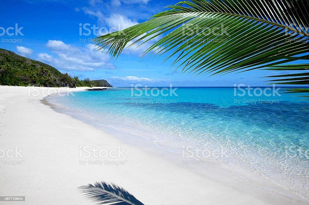 Fiji Island Yasawa stock photo