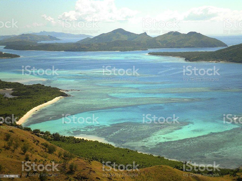 Fiji Paradise Islands stock photo