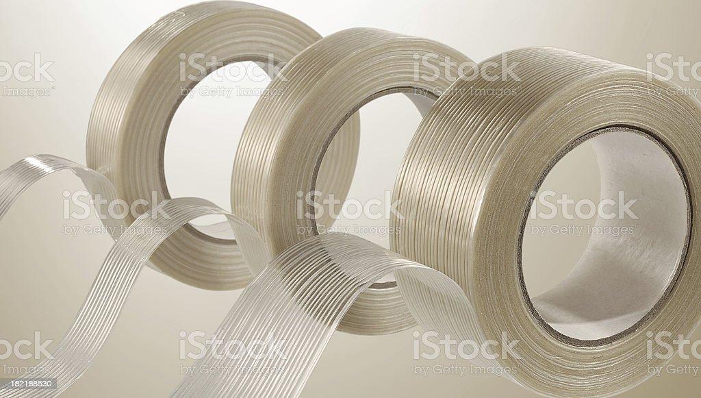 Filamentbandrollen stock photo