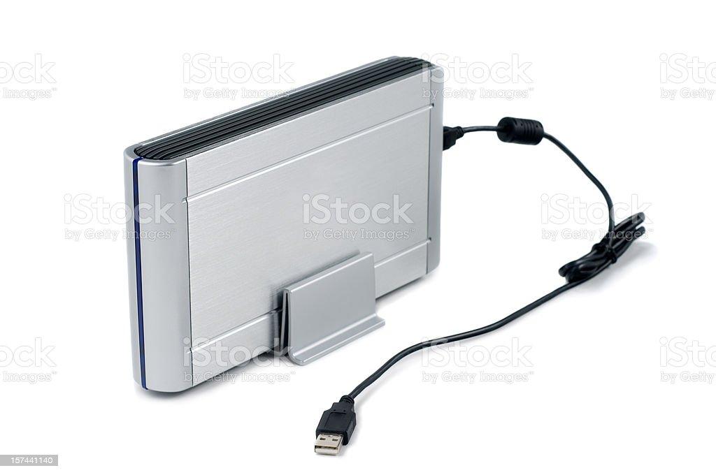 File Backup Hard Drive - USB royalty-free stock photo
