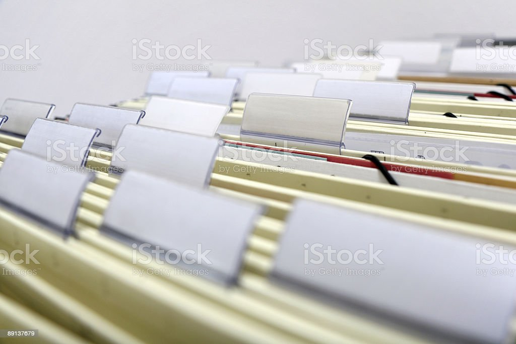 file cabinet stock photo