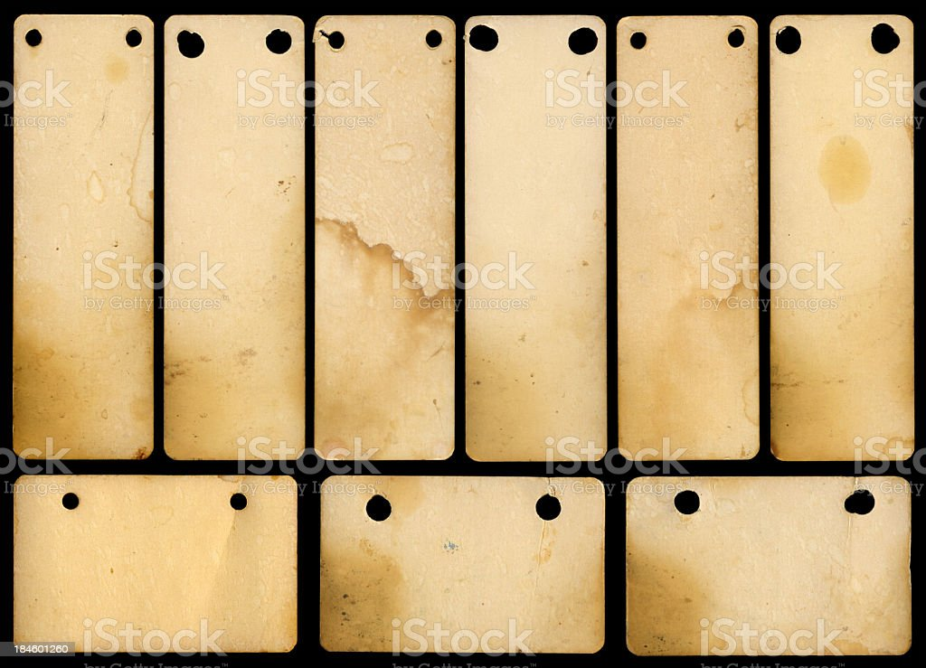 file cards royalty-free stock photo