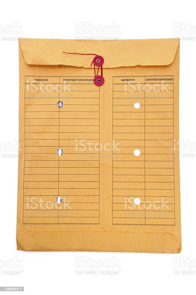 File Envelope royalty-free stock photo