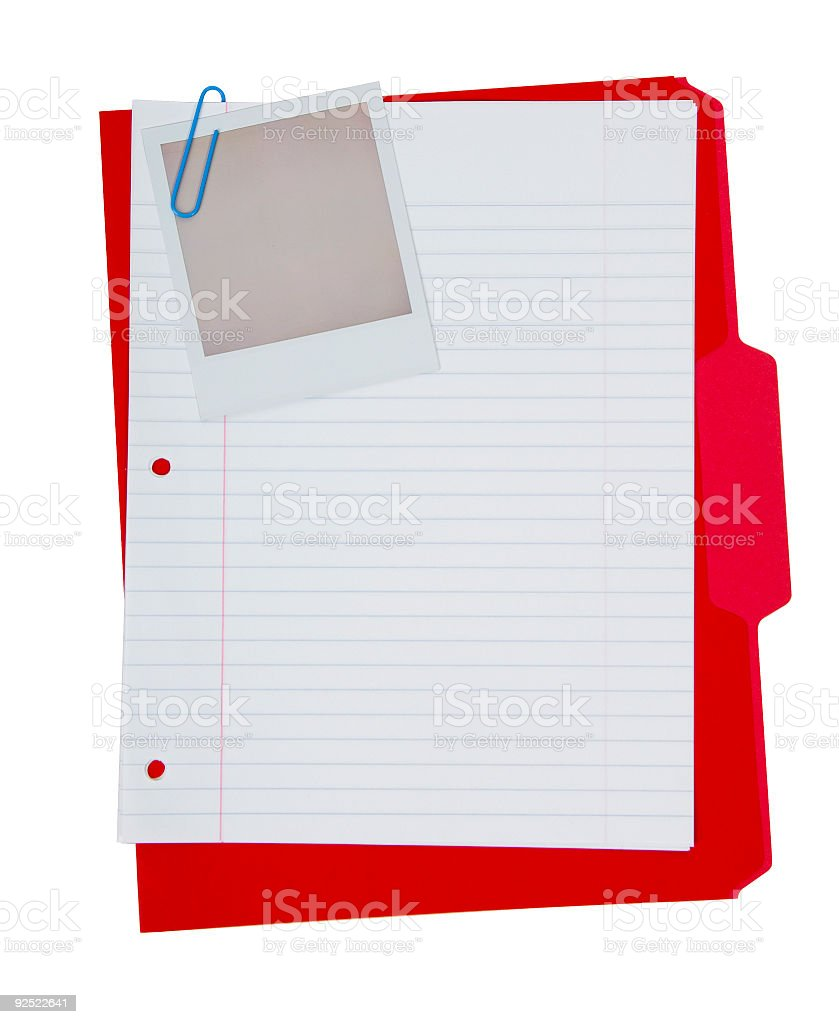 File Folder Grouping royalty-free stock photo