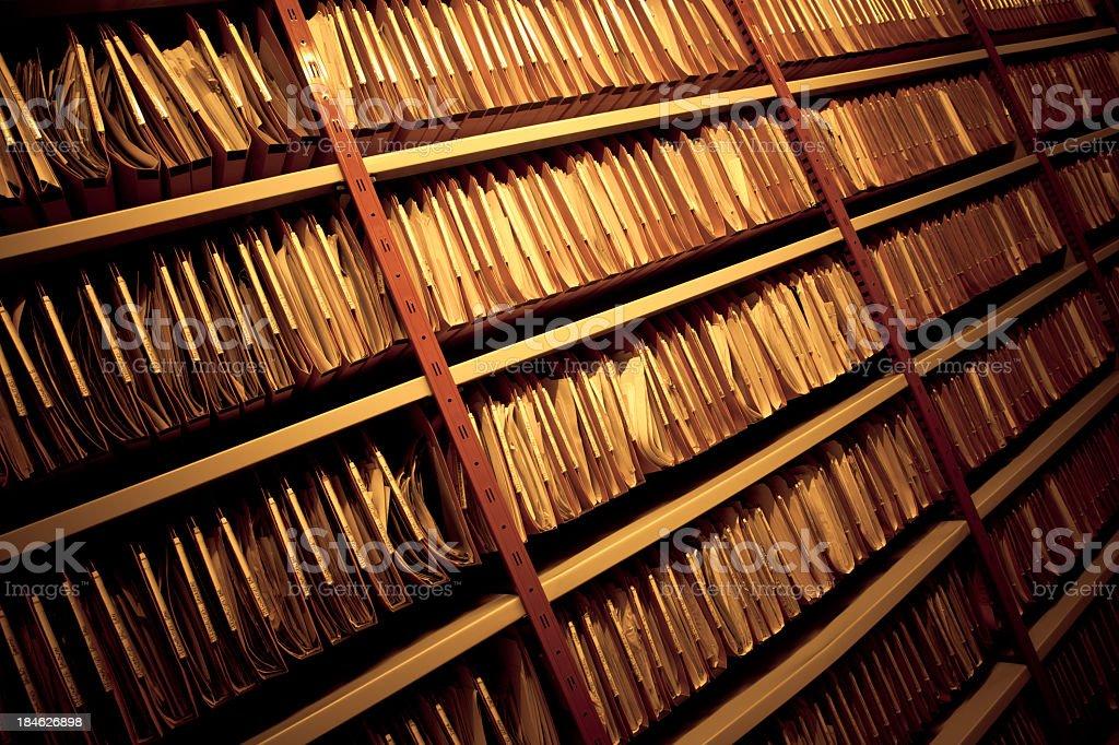 File Folders stock photo