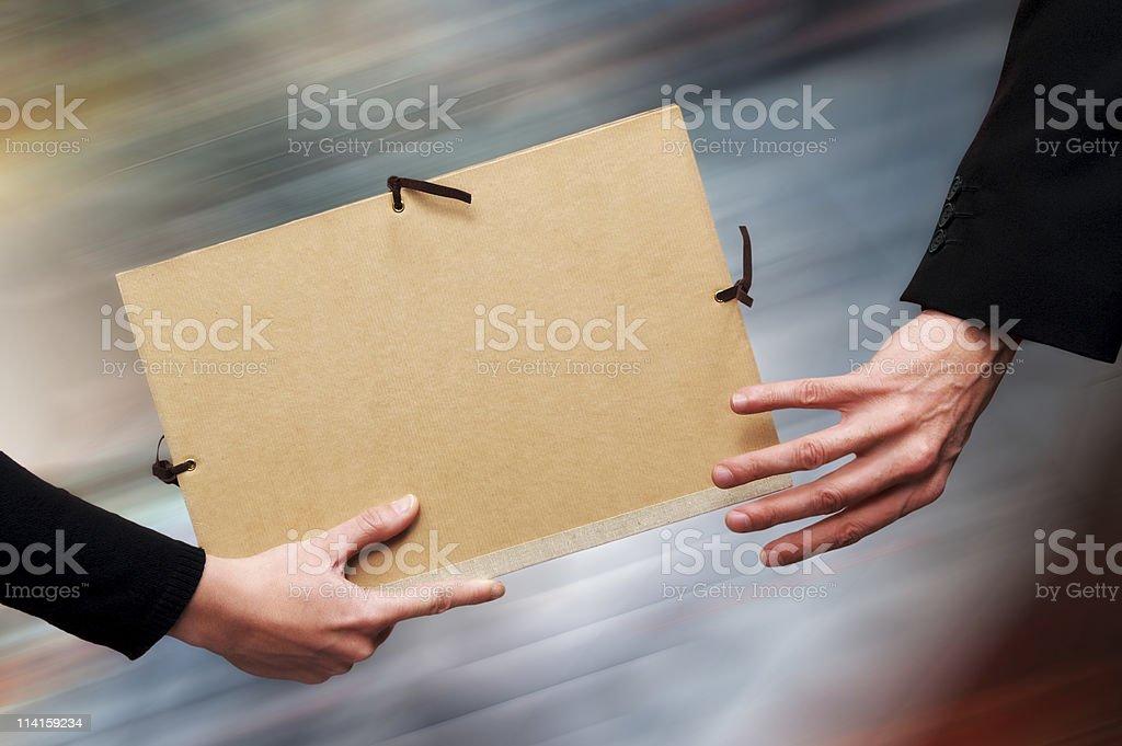 File Relay stock photo