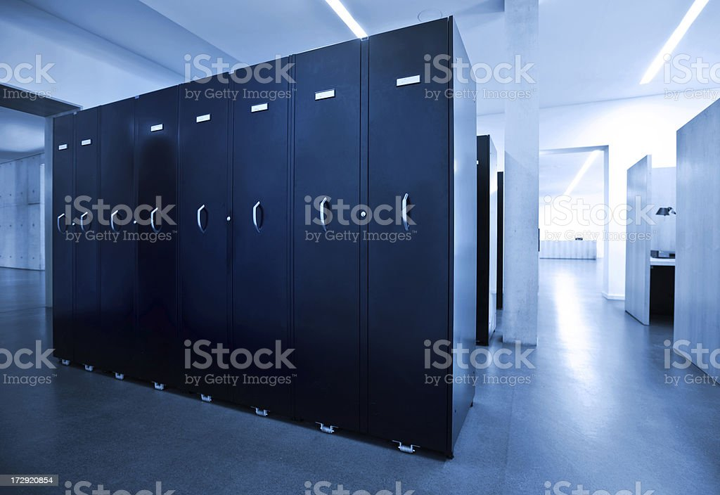 File Room stock photo