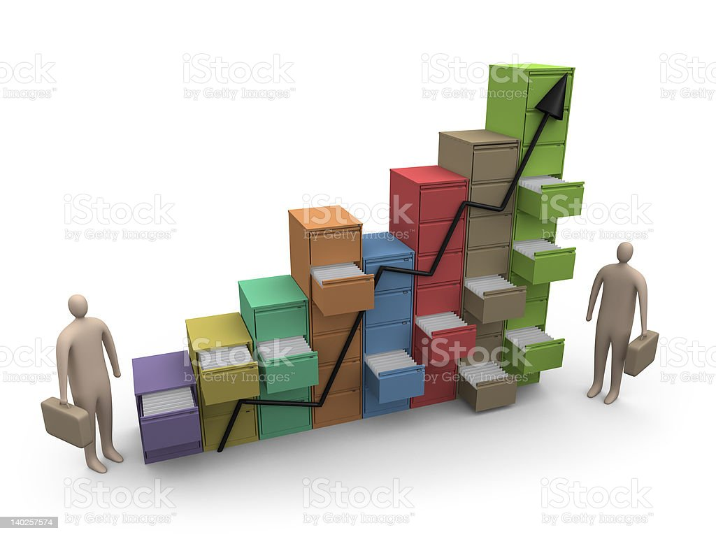 File Statistics royalty-free stock photo