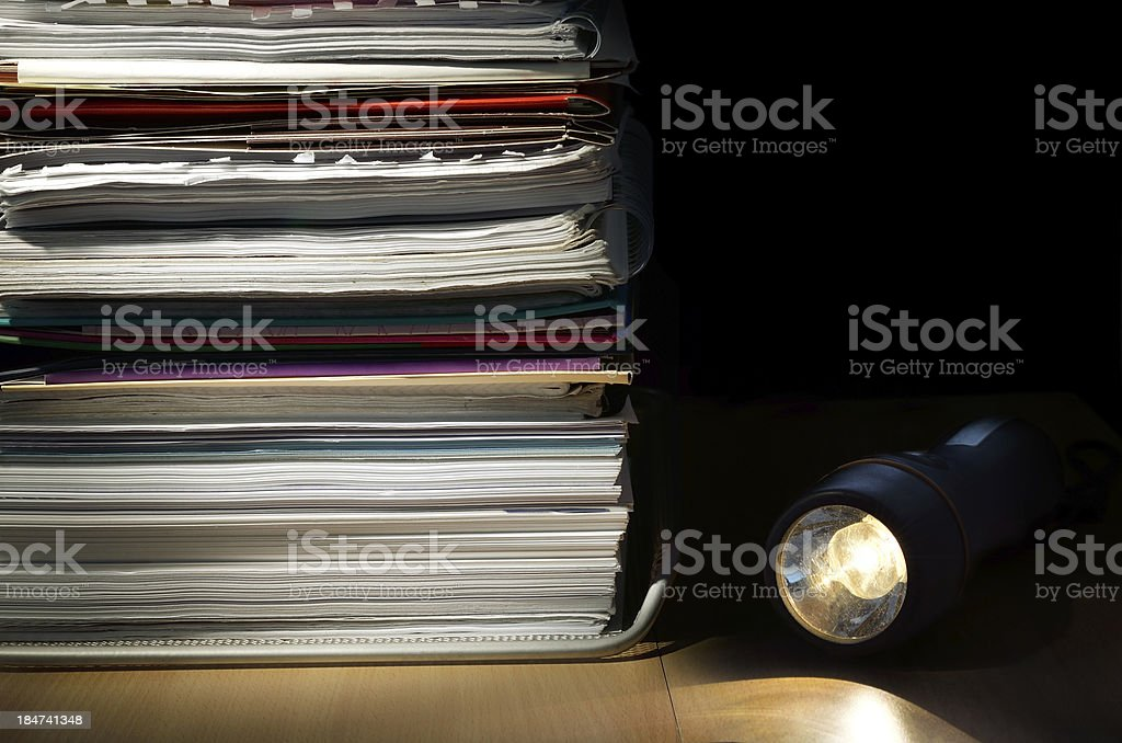 File stealing royalty-free stock photo