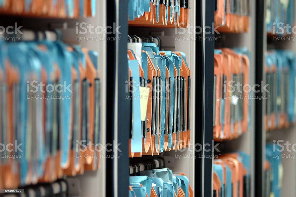 file storage stock photo