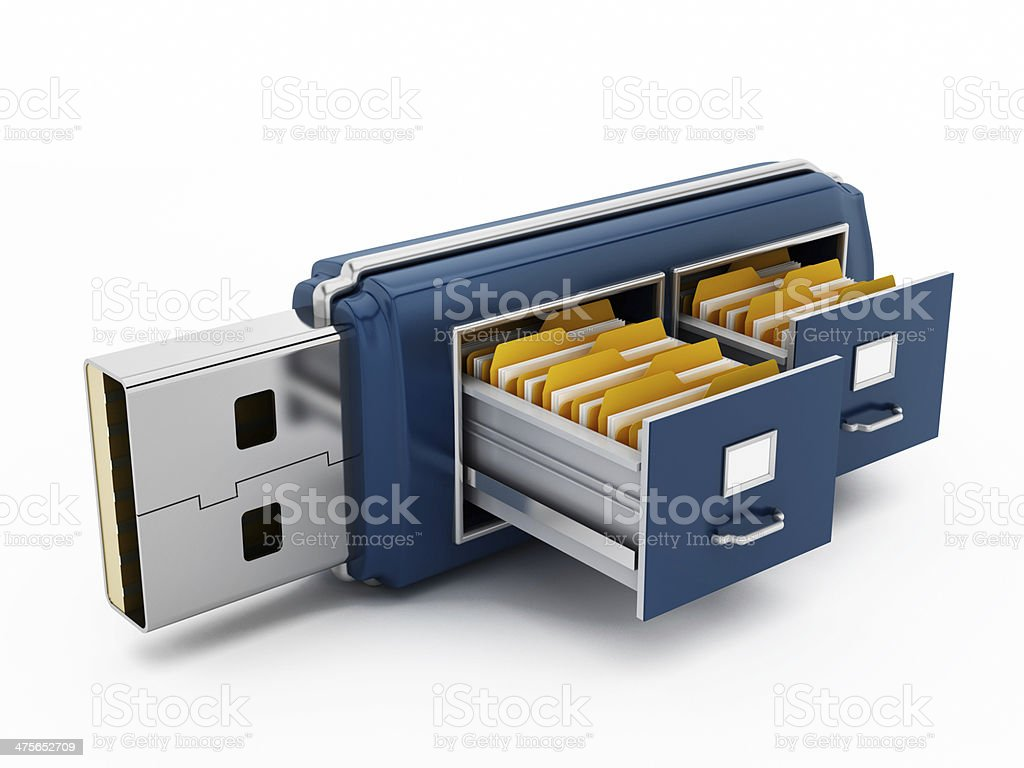 File storage stock photo