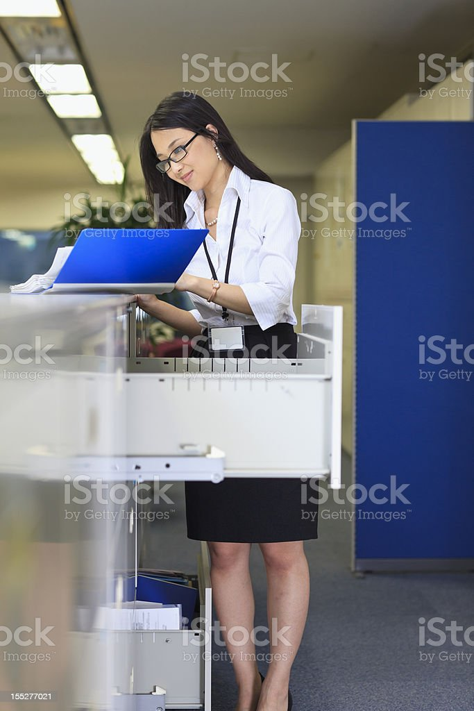 Files and archives royalty-free stock photo