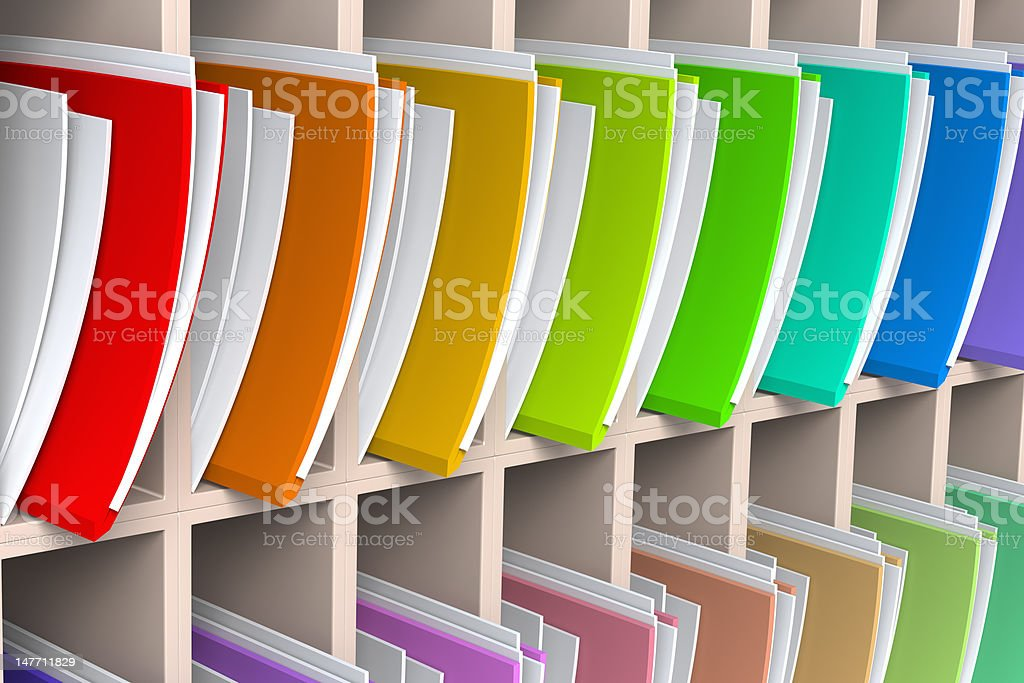 Files and Documents stock photo