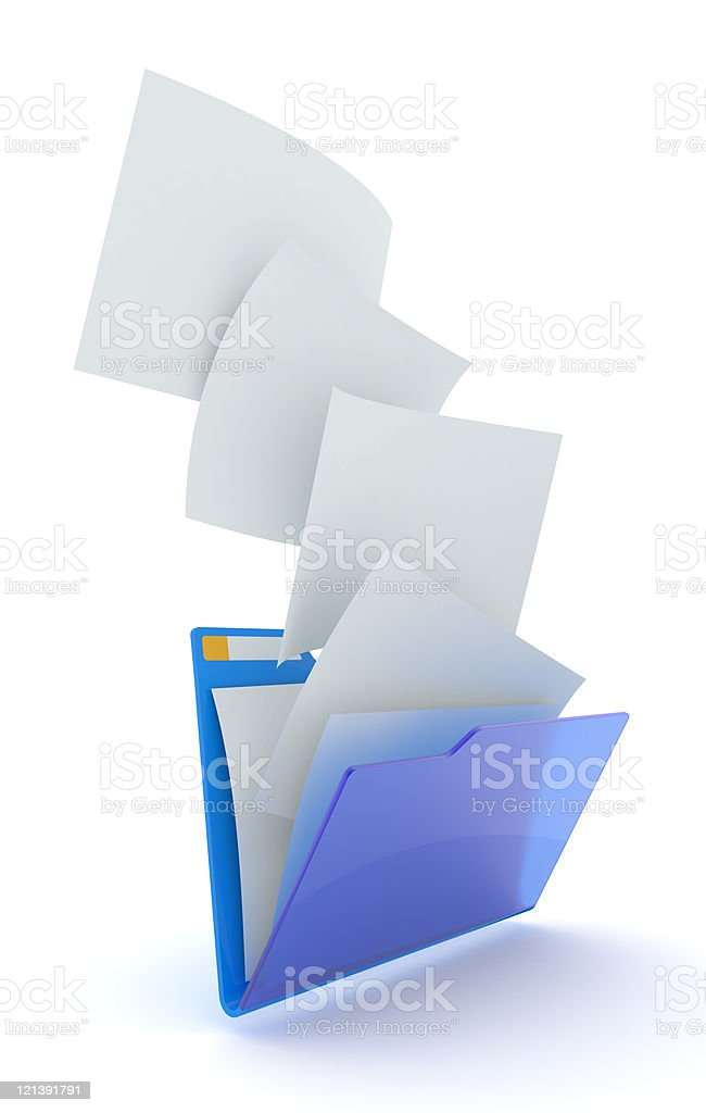 Files downloading. royalty-free stock photo