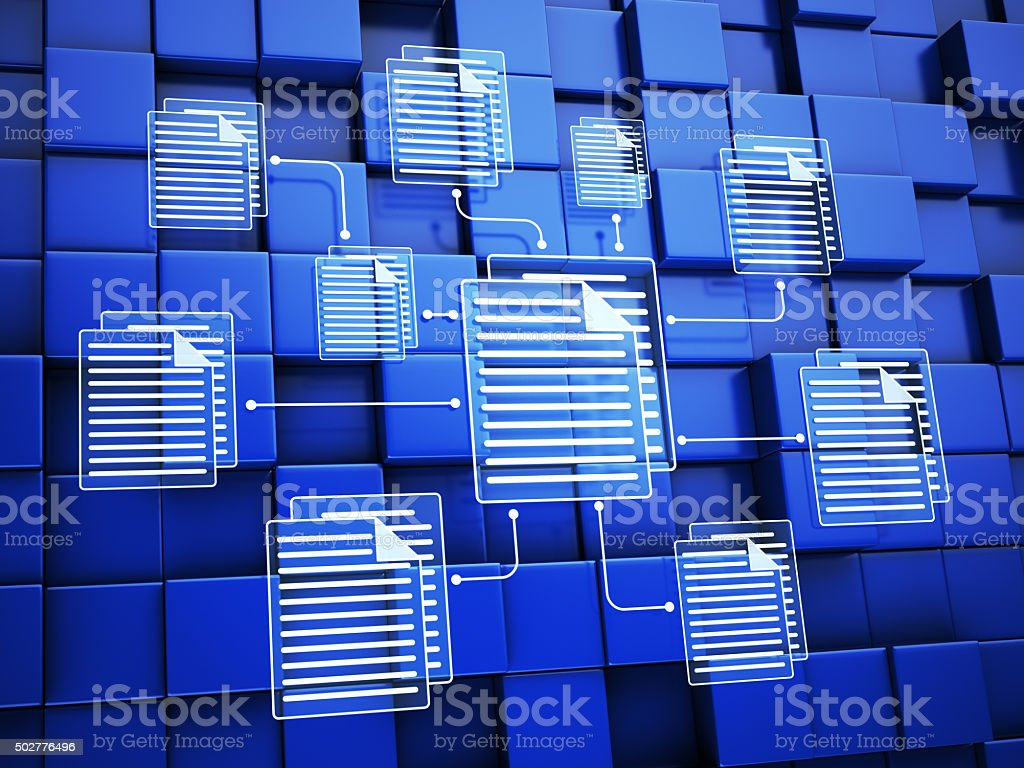 Files stock photo