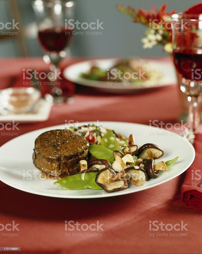 Filet Mignon/ Beef Tenderloin royalty-free stock photo
