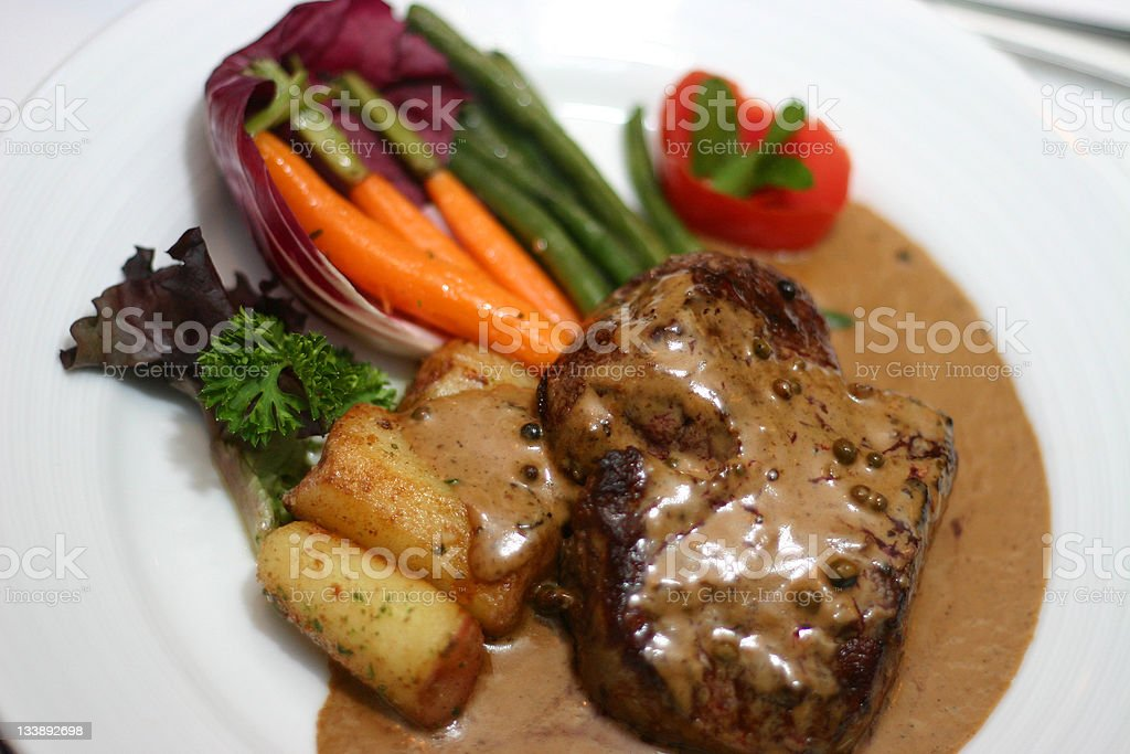 Filet Mignon royalty-free stock photo