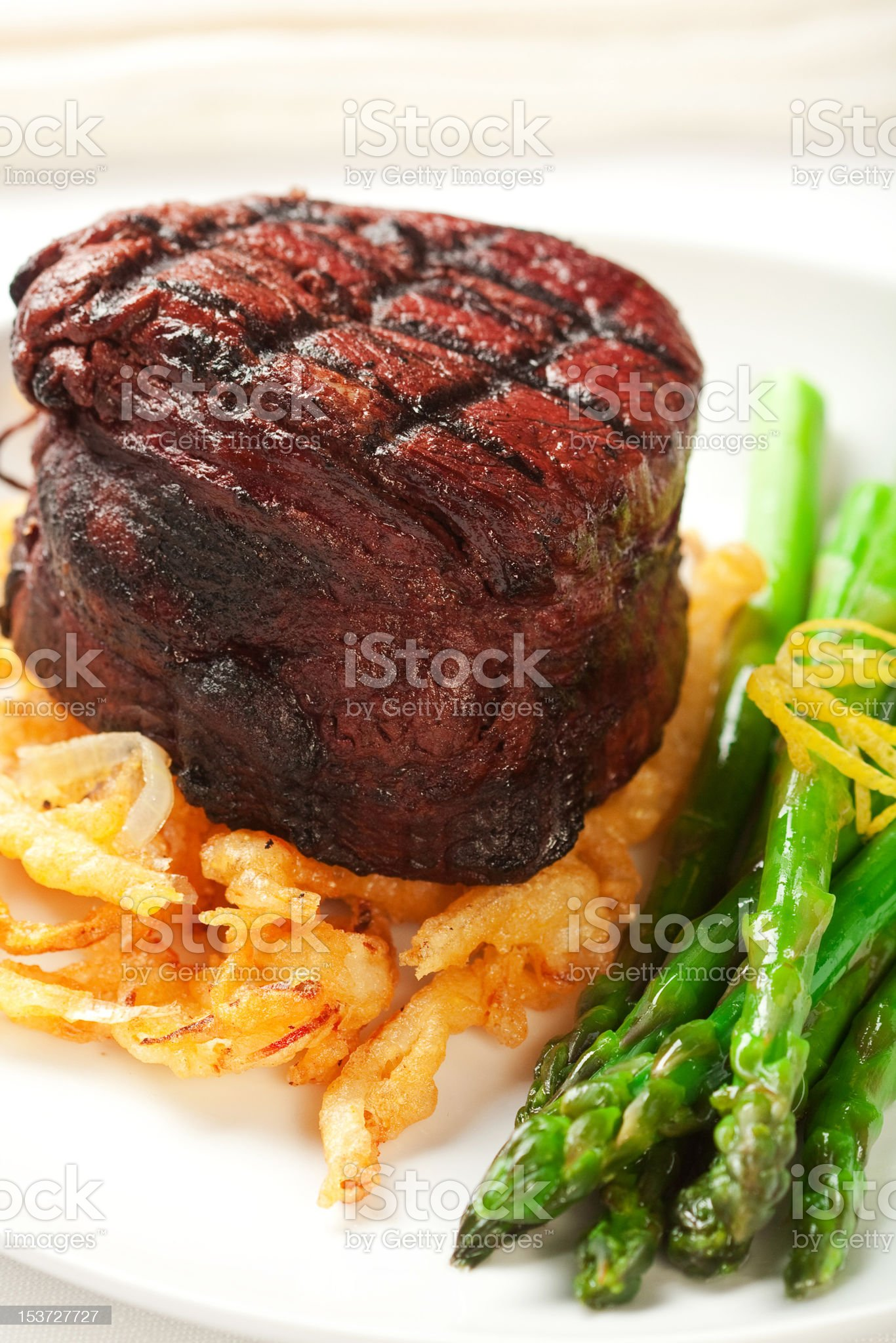 Filet Mignon royalty-free stock photo