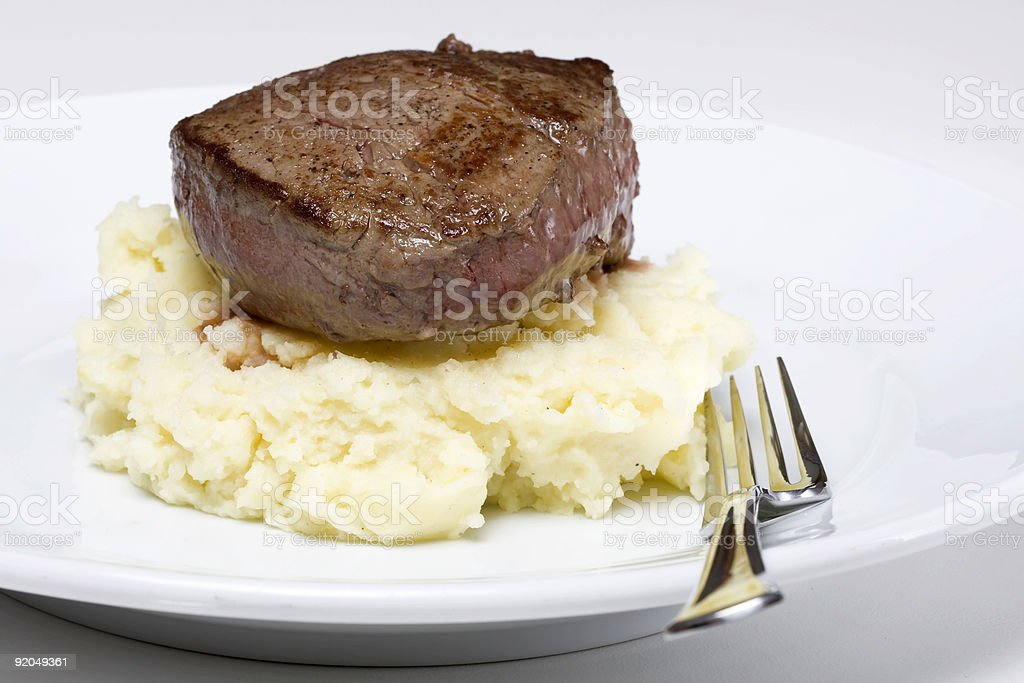 Filet steak royalty-free stock photo