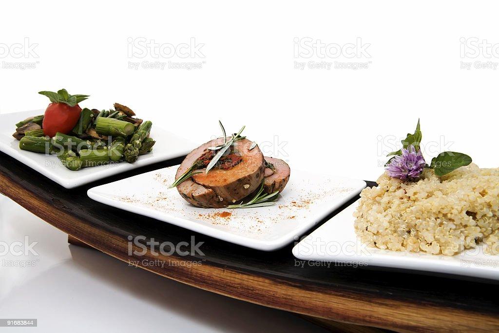Filet Wrap royalty-free stock photo