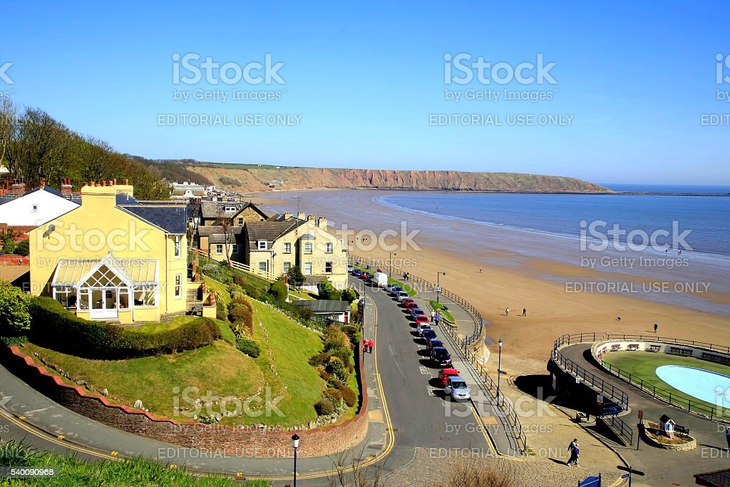 Filey, North Yorkshire, UK. stock photo