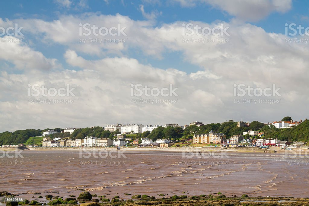 Filey stock photo