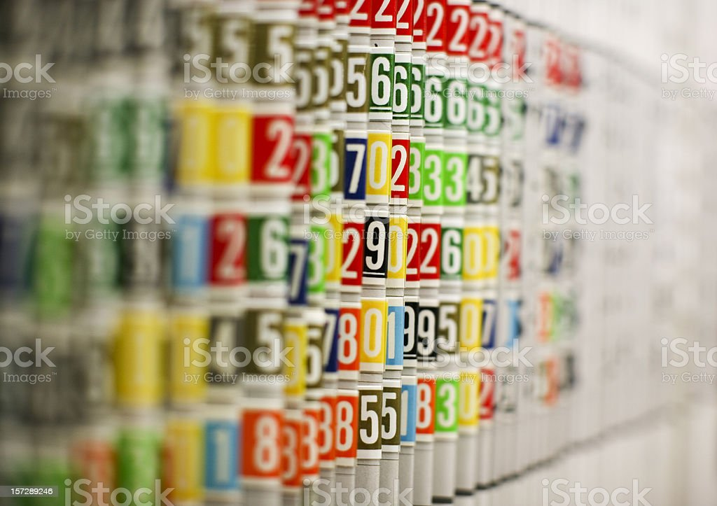 filing system royalty-free stock photo