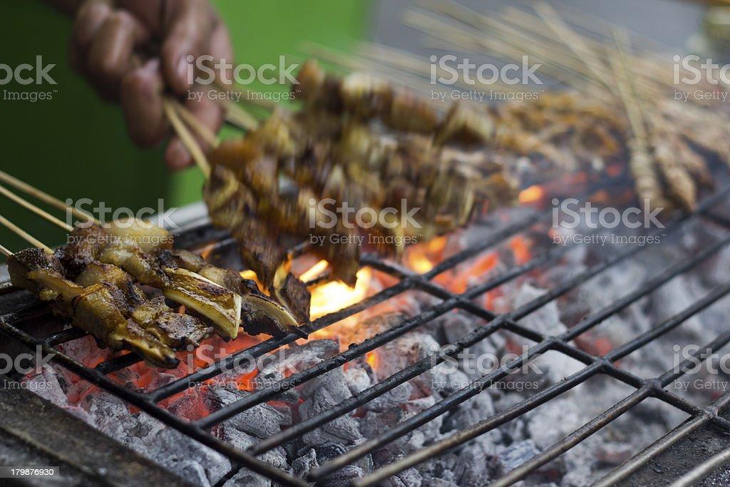 Filipino street food stock photo