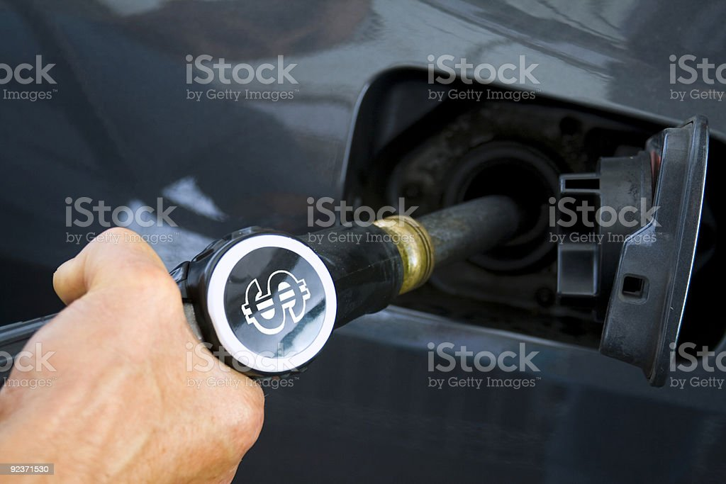 Fill up royalty-free stock photo