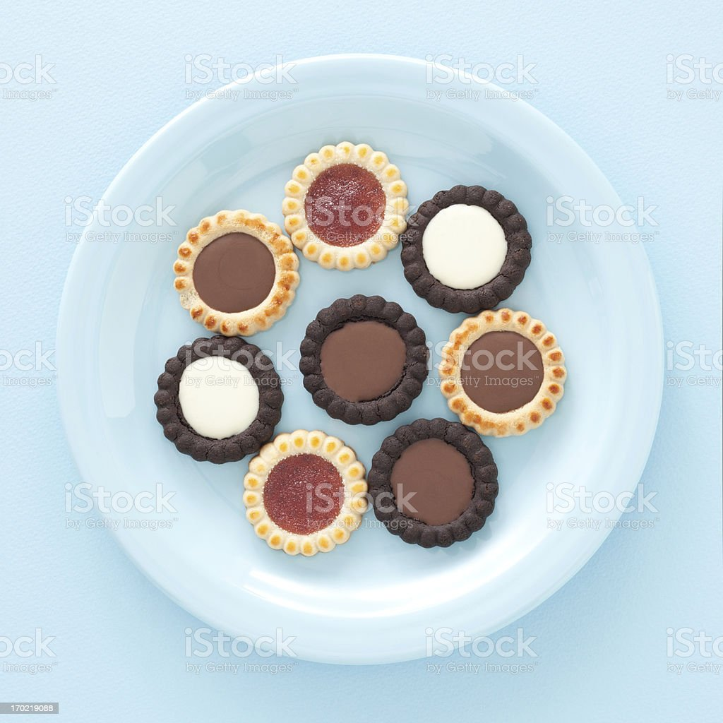 Filled cookies royalty-free stock photo