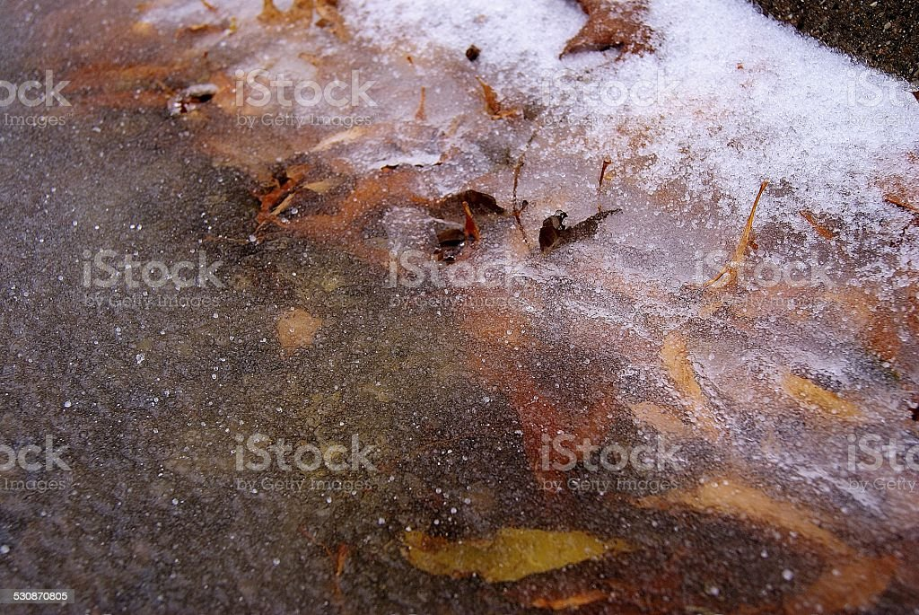 Filled Gutter royalty-free stock photo